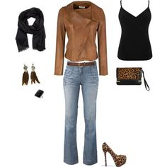 casual outfit,   Polyvore