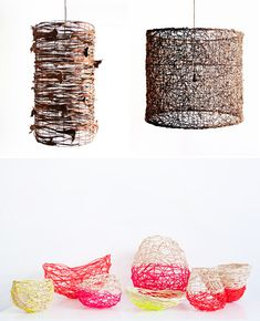 Loving these baskets by Harriet Goodall via Design Files