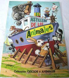 El astillero de los animales Ed Vasco Americana EVA 1967 cuento Colección Oficios y animales - Foto 1