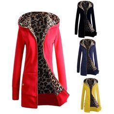 Women's Warm Winter Hooded Parka Coat Overcoat Long Jacket Outwear M-3Xl