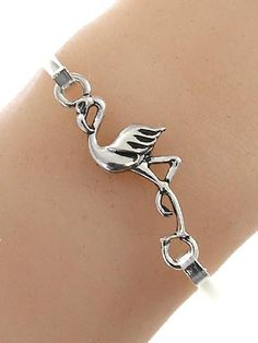 Beautiful Flamingo Bracelet! This Flamingo Bracelet is a MUST HAVE! Designed with premium high quality material! You can get this unique bracelet, but only for