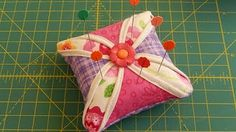 The Chicken Pin Cushion- A Fun Craft with Quilt Fabric! - YouTube