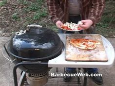 Grilled Pizza by the BBQ Pit Boys