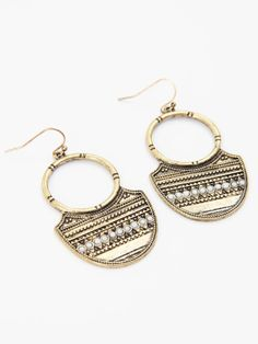 Altar'd State Tribal Deco Earrings