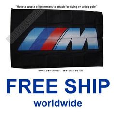 $17.99 Free Shipping WorldWide Service!  BMW banner flag M series POWER M5