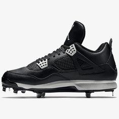 low priced 4bac8 b224d Nike Air Jordan Retro IV Metal Adult Baseball Cleat Air Jordan Iv, Nike Air  Jordan