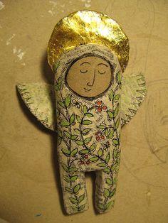 angel by jamjarart, via Flickr
