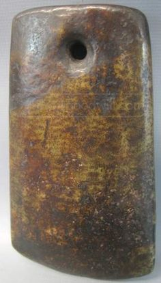 shopgoodwill.com: Chinese Neolithic Jade Axe - Hongshan Culture