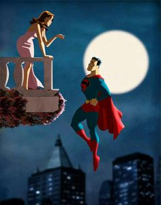 Clark and Lois... the best love story ever.