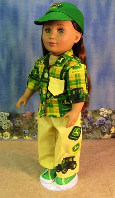 John Deere Doll....I think I would have played with this kind of doll
