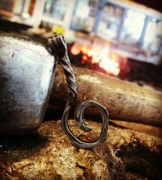 Damascus pendant