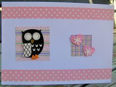 Owl Card, Half Price, Valentine Day Cards, My Etsy Shop, Awesome, Unique Jewelry, Handmade Gifts, Vintage, Valentine Ecards
