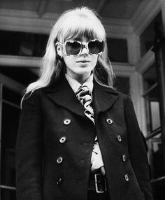Swinging London. Marianne Faithfull.
