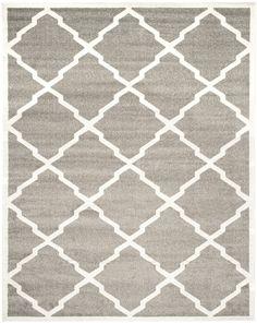 Safavieh Amherst Contemporary Indoorarea Rug Dark Grey / Beige