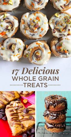 Bake treats with whole grains to add a little fiber and whole food goodness.