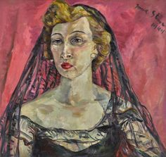 Irma Stern - STELLA, LADY BAILEY, 1944, oil on...