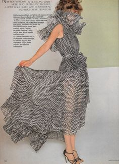 YSL -Saint Laurent Rive Gauche -British Vogue - April 1980