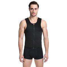 65692ac0fe4 Latex Waist Trainer For Men Gym Shapewear Vest Corsets Fajas Colombianas