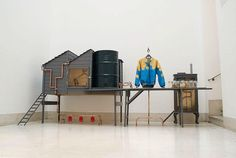 Kieren Jones, Personal Micro-Farm: The Chicken Project, Backyard Factory ('Micro-fattoria personale: Progetto polli, Fabbrica nel cortile'), Royal Collage of Art, 2010