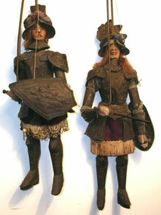 Late 18th Century Sicilian Rod Marionettes/Puppets
