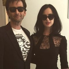 PHOTO: David Tennant & Krysten Ritter Attend The HFPA Press Conference For Marvel's Jessica Jones | DAVID TENNANT NEWS FROM WWW.DAVID-TENNANT.COM