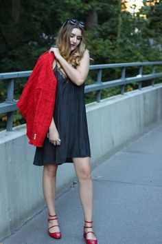 classic red & black Outfit | lauracoeur.com