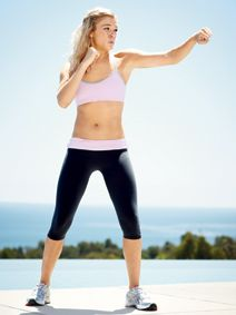 LeAnn Rimes: The Boxing Workout that Makes her Buff and Tough