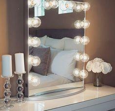 espelhos de camarim