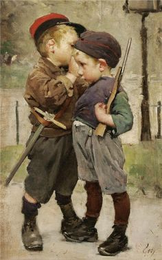 The Confinement, Henry-Jules-Jean Geoffroy. French (1853 - 1924)