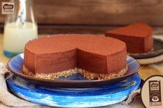 Tarta mousse de chocolate intenso