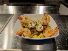 Herb Grilled Shrimp & Scallops Ingredients •1 pound medium, uncooked ...