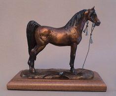 Arabian Horse Sculpture Horse Art Horse by JudyVargasDesign, $700.00