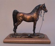 Arabian Horse Sculpture Horse Art Horse by JudyVargasDesign