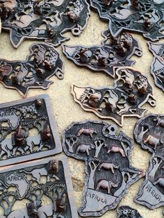 Gorgeous, beautifully carved African arts found on roadside above Llandudno.