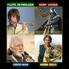 He's holding the flute the wrong way, but it's still funny