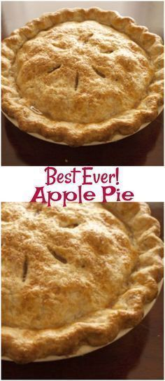 The Best Apple Pie. The Best Apple Pie is so easy to make and one that you have … The Best Apple Pie. The Best Apple Pie is so easy to make and one that you have to try! It is an easy apple pie recipe that everyone will love. Apple Pie Recipe Easy, Easy Pie Recipes, Homemade Apple Pies, Apple Pie Recipes, Baking Recipes, Baking Apple Pie, Apple Pie Pastry, Apple Pie Cookies, Köstliche Desserts