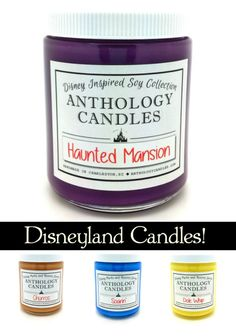 Yes, Disneyland and Walt Disney World candles exist! Now your home can smell like the Haunted Mansion, a Dole Whip, or Belle's Library!