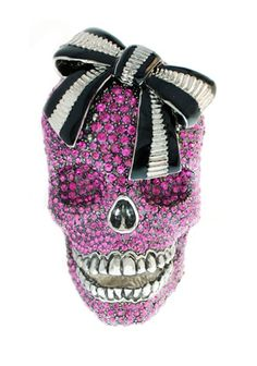 ☆ Skull Crystal Ring :¦: By Italian designers from the 'Schield Collection' ☆