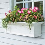 <strong>Yorkshire Self-Watering Window Planter Box</strong> by Plow & Hearth