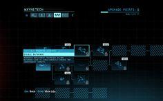 Batman skills interface