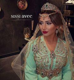 b3b846dfcb4e Djellaba Marocaine, Mariée Marocaine, Caftan Marocain 2017, Caftan Perlé,  Caftan Haute Couture