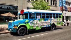 Rent a Bus from The Detroit Bus Company - Biofuel powered, happiness focused.