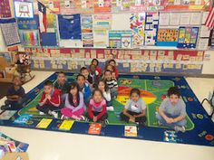 Dual Language Kindergarten Classroom Blog...nice examples of how to keep concepts concrete and engaging.