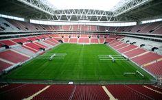 Türk Telekom Arena (52650 seats) Home ground of Galatasaray Istanbul.