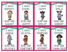 I Have Kindness...How About You? A FAB game for any grade level to incorporate KINDNESS during the whole school year.