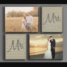Love this arrangement with personalized vows.