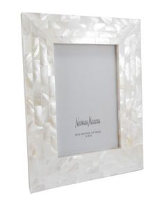 """Mother-of-Pearl+Frame,+4""""+x+6""""+by+The+Jws+Collections+at+Neiman+Marcus."""