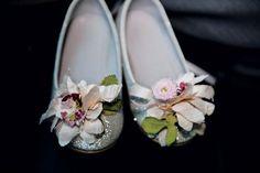 Little flower girl shoes - swoooooooon!