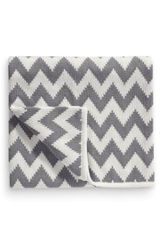 5af24744a1 Buy Grey Zig Zag Blanket (Newborn) from the Next UK online shop