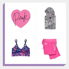 Create your ultimate PINK gift box and show your friends and fam what you REALLY want these holidays!